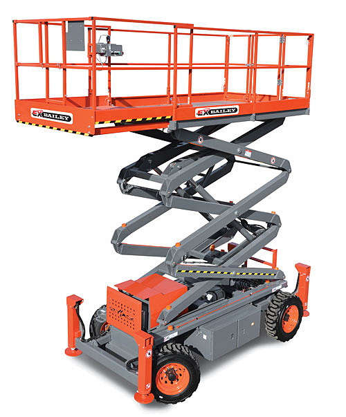 Explosion Proof Scissor Lift