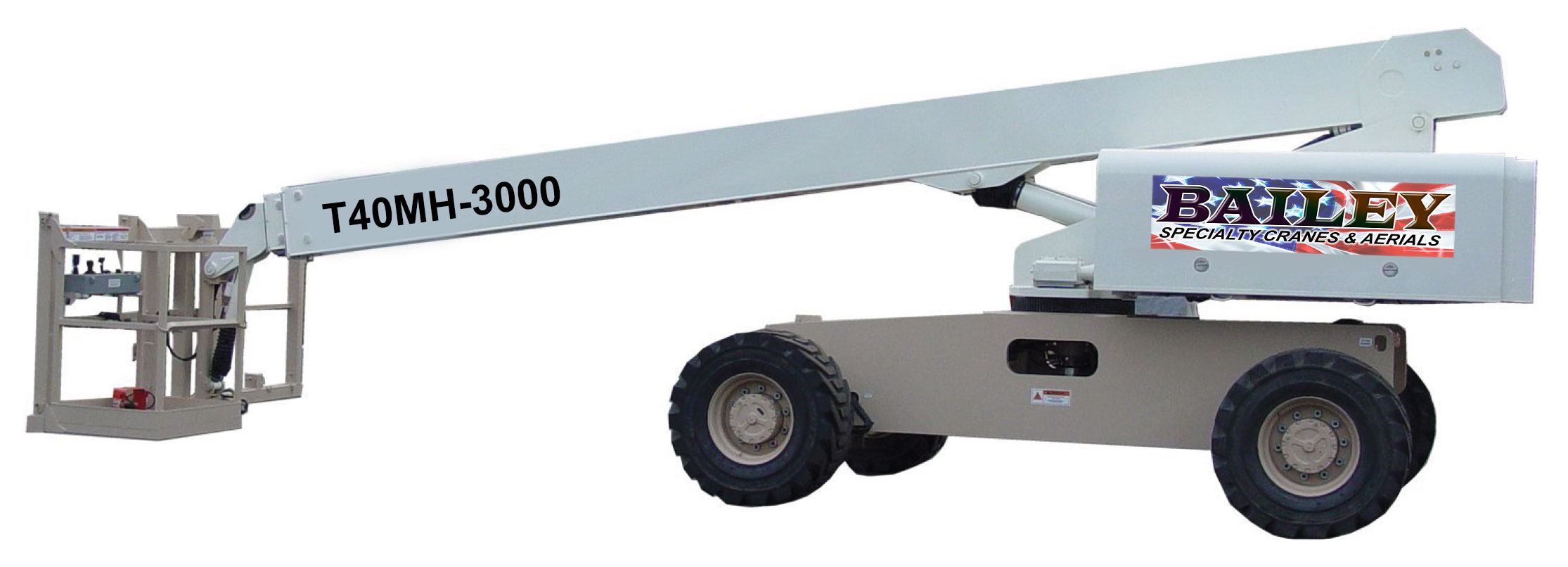 T40MH-3000 High Capacity Boom Lif